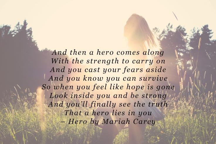 Hero by Mariah Carey PDF