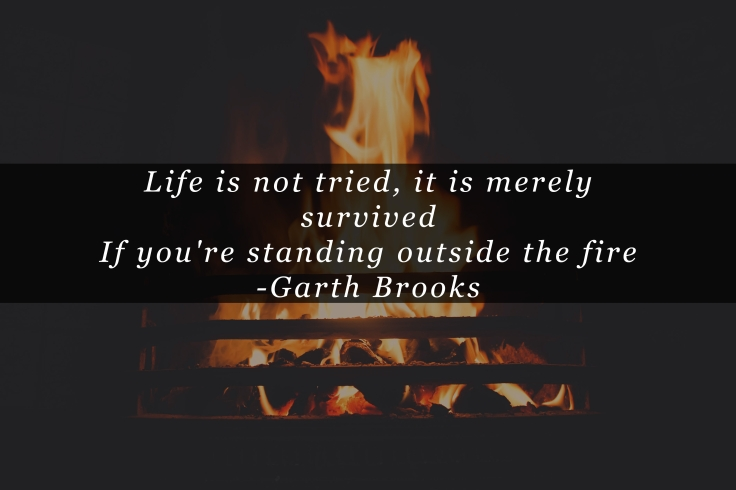 Image result for standing outside the fire garth brooks
